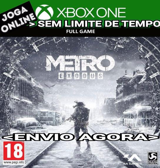 Metro Exodus Xbox One Online Digital Original Envio Imediato