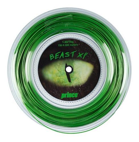 Encordado Cuerda Prince Xp Beast 1.30/16 Rollo 220m