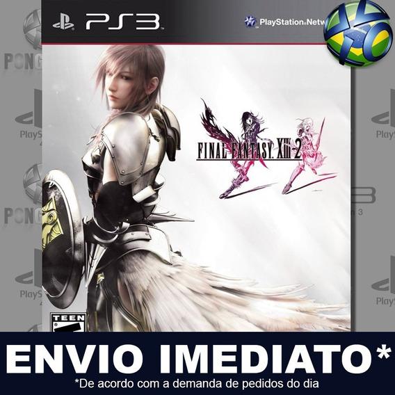 Final Fantasy Xiii-2 Ps3 Psn Jogo Em Promoção Pronta Entrega