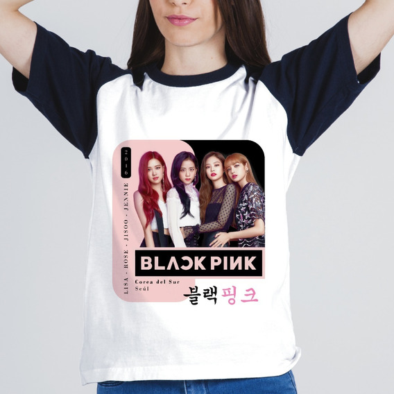 Remera Sublimada Blackpink K-pop Lisa Jisoo Rose Jennie