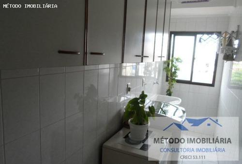 Apartamento Para Venda Em Santos, Aparecida, 2 Dormitórios, 1 Suíte, 2 Banheiros, 1 Vaga - 12390_1-935312