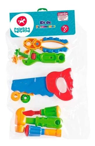 Imagen 1 de 1 de Calesita Herramientas Kit Mediano 458 En Bolsa