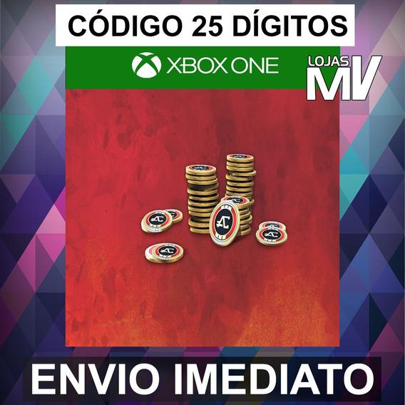 Apex Legends 3150 Moedas Apex Xbox Código De 25 Dígitos