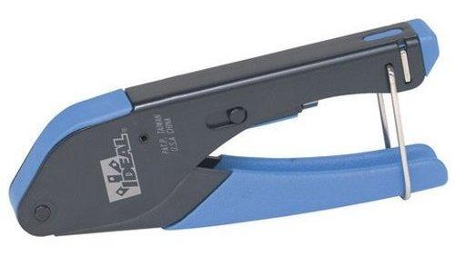 Alicates Compressão Conector F Rg59/6 Ideal 30-633- 5 Peças