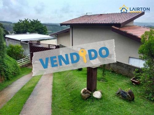 Chácara Com 3 Dormitórios À Venda, 1070 M² Por R$ 328.000,00 - Vitória Régia - Atibaia/sp - Ch1088