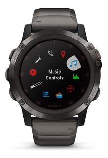Smartwatch Garmin Fenix 5x Plus Zafiro Dlc Titanio Tienda Of