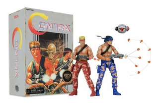 Neca Contra Bill & Lance Figures (video Game Appearance)