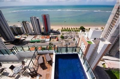 Apartamento Em Candeias, Jaboatão Dos Guararapes/pe De 37m² 1 Quartos À Venda Por R$ 211.000,00 - Ap183268