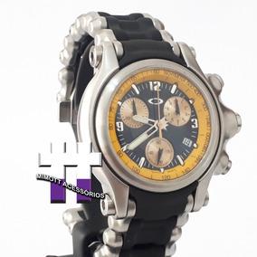 Relógio Brigade Ed. Holeshot 6 Hand Bracelete Yellow Dial