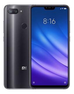 Celular Xiaomi Mi 8 Mi8 Lite 64gb 4gb Ram Tela+nota Fis+fone