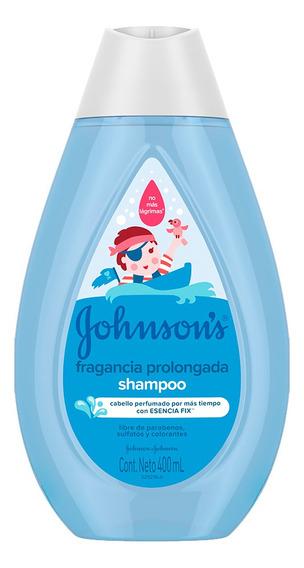 Shampoo Bebe Fragancia Prolongada 400ml Vitamina E Johnson