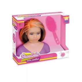 Boneca Brendinha Para Pentear - Anjo Brinquedos