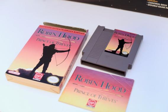 Jogo Nes - Robin Hood - Completo Na Caixa