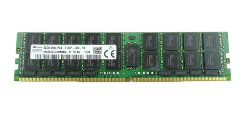 Memoria Ram Servidor Ddr4 Pc4-17000 32 Gb Pc4-2133p Samsung