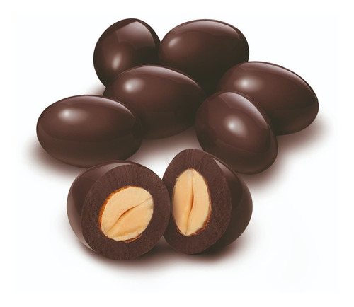 Imagen 1 de 6 de Almendra C/chocolate Semiamargo 70% Cacao Chocolart X 500 Gm