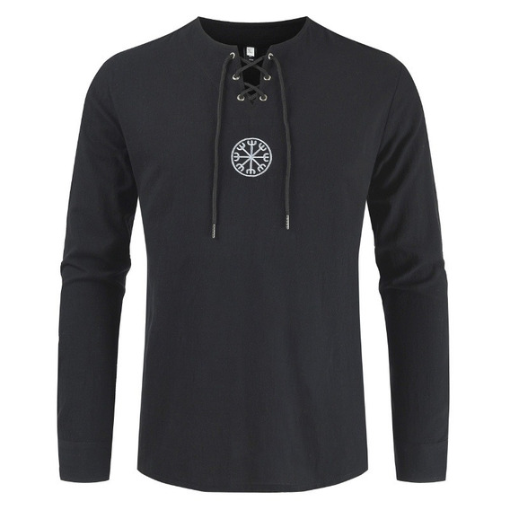 Camiseta Holgada De Algodón Para Hombres Camiseta Hippie