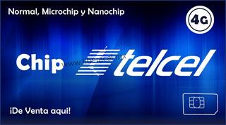 Chip Telcel R5 Lada (351) Con Plan Sin Limite 50 Incluido