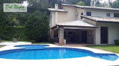Casa Com 5 Dormitórios À Venda E Para Locação, 570 M² - Jardim Mediterrâneo, Granja Viana. - Ca1712