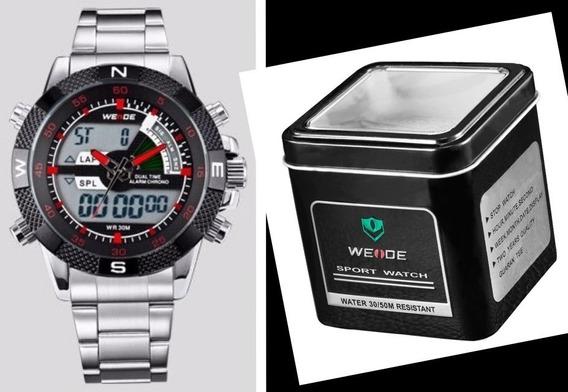 Relógio Esportes / Militar Analógico / Digital Weide 1104