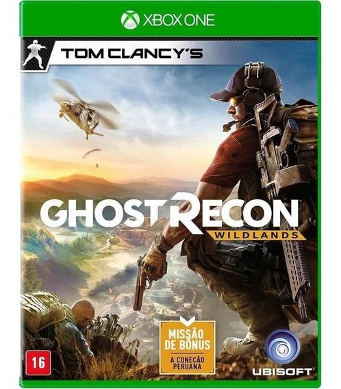 Jogo Ghost Recon Wildlands Xbox One Midia Fisica Cd Original Novo Lacrado Dublado Português Br Promoção