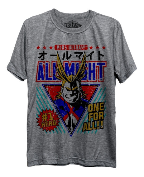 Camiseta All Might Boku No Hero Academia Academy Deku Freekz
