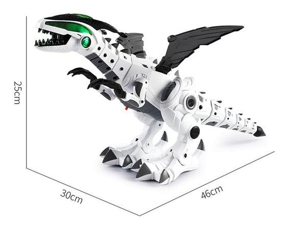Dinossauro Dragão Bate Asas Anda Som E Luz Imita Fogo