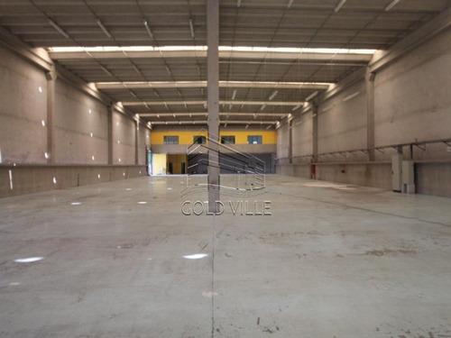 Ga4353 - Aluguel De Galpão Em Jandira Com 3.500 Metros De Terremo, 3.050 Metros De Galpão, 2.042 Metros De Área Fabril, 1.008 Metros De Escritório - Ga4353 - 33876012