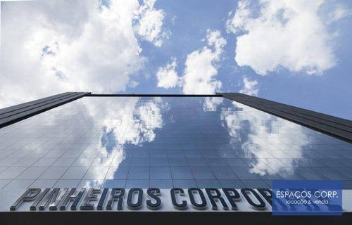 Laje Corporativa Para Alugar, 959m² - Pinheiros - São Paulo/sp - Lj0696