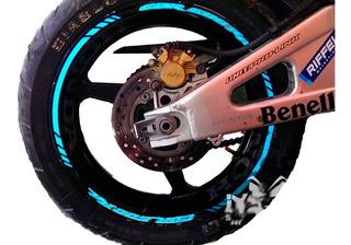 Stickers Para Rines De Motos Honda: Reflejante / Neon