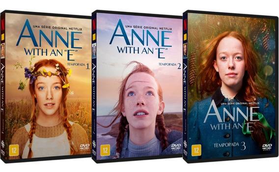 Série Anne With An E 1ª A 3ª Temporadas