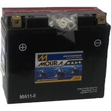 Bateria Moto Moura Ma11-e Yamaha Xj6 Fz6n 600 Yt12b-bs