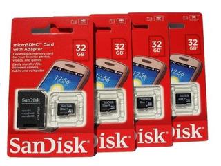 Cartão De Memória Sdhc 32gb Sandisk