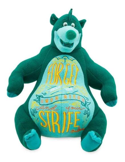 Baloo Pelúcia - Mogli - Disney Store Edição Limitada Wisdom