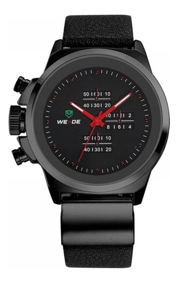 Relógio Masculino Weide Analógico Casual Wh-3305 Preto