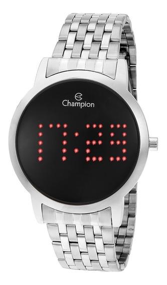 Relógio Champion Feminino Ch40008t Digital, Prata, Led