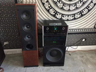 Amplificador Y Pre Mcintosh 8207 Y Mx121 Usa Acutron-audio
