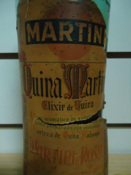 Antigua Botella De Martini