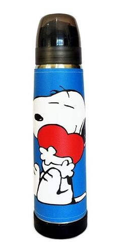 Termo Acero Inoxidable Lumilagro Luminox 1 Litro Snoopy