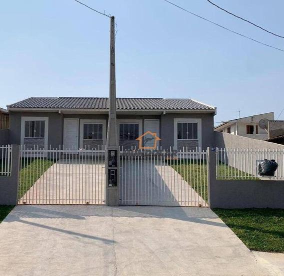 Casa Com 3 Dormitórios À Venda, 66 M² Por R$ 237.000,00 - Porto Das Laranjeiras - Araucária/pr - Ca1568