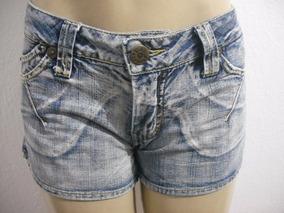 Shorts Jeans Curto Tam 42 Osmoze Ótimo Estado