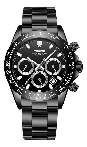 Reloj Pulsera Tevise T822a Mecánico Automático Para Hombre