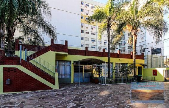 Apartamento Com 3 Dormitórios À Venda, 73 M² Por R$ 315.000 - Cristal - Porto Alegre/rs - Ap1738