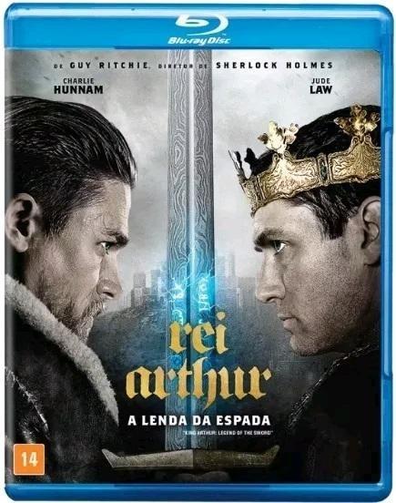 Rei Arthur - A Lenda Da Espada - Blu-ray - Jude Law - Novo