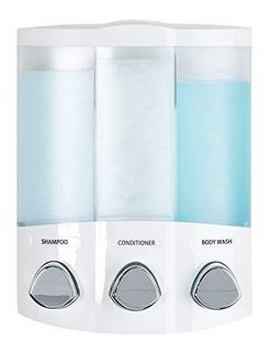 Dispensador Jabon Liquido Gel Shampoo Baño Ducha