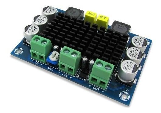 Placa Amplificador Modulo 120w Rms Potencia Diy Caixa Ativa