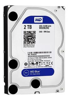 Disco duro interno Western Digital WD Blue WD20EZRZ 2TB azul