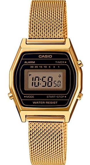 Relógio Casio Vintage Feminino La690wemy-1df