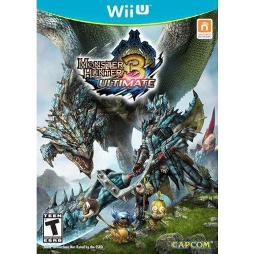 Monster Hunter 3 Ultimate - Wii U Mídia Física