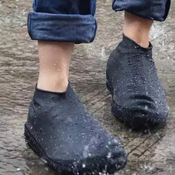 Cubre Zapatilla Zapato Impermeable Silicona Lluvia P. Mayo