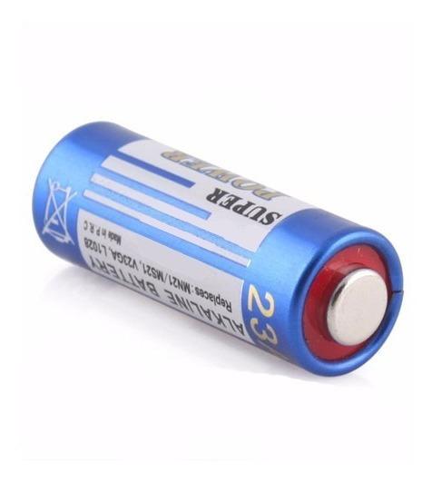 Kit 100 Bateria 12v 23a Pilha Para Controle Portão Alarme